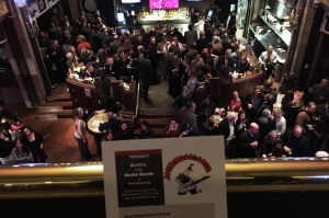 The crowd at Journolapooza 2016 at D.C.'s Hard Rock Cafe