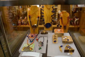 #TurquoiseMountain jewelry for sale in he gift shop at the Arthur M. Sackler Gallery in D.C.