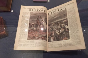 "Rudyard Kipling's magazine story called ""The Janeites"" are part of the Folger Shakespeare Library's exhibit on Shakespeare and Austen"