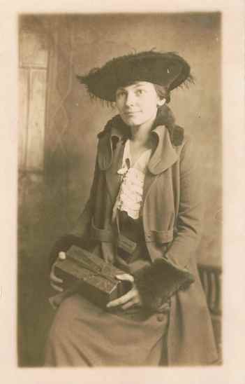 WWI-Mildred Chapman chocolates